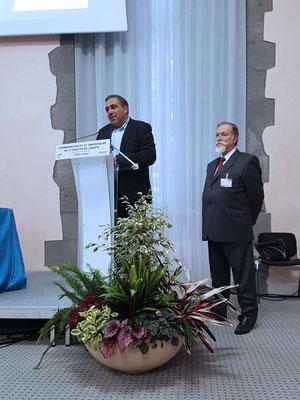 Philippe Bohelay, maire-adjoint à la Vie associative, et Jean-Philippe Moulin, président de l'ADASTA