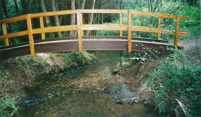 Stahl für Bogenbrücke