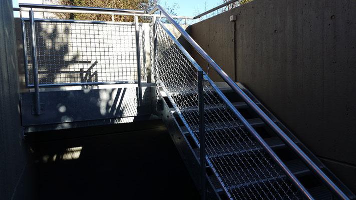 Treppen waldbauer stahlbau b blingen leonberg stuttgart for Stahlbau aussteifung