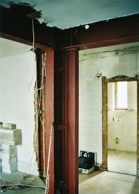 Verstärkungen in Wänden und Decken