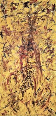 MESSIAH; 80x40 cm; Acryl auf Leinen; Preis € 250,-