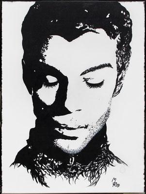 PRINCE ROGERS NELSON Nr.2; 80x60 cm; Ghesso auf Leinen (Original nicht mehr erhältlich)