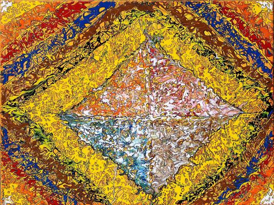 ORIENTUM; 60x80 cm; Lack (Original nicht mehr erhältlich)
