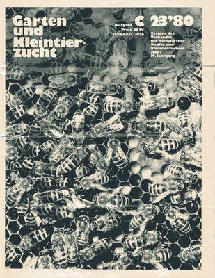 Titelbild der Ausgabe C - Imker (Foto: G. Schröder)