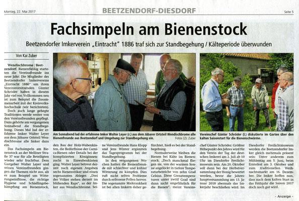 22.5.2017 Altmarkzeitung