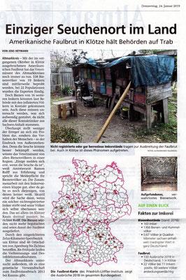 Altmarkzeitung vom 24.1.19
