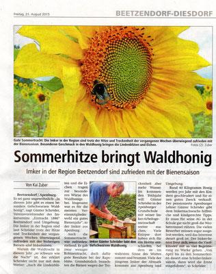 21.8.2015 Altmarkzeitung