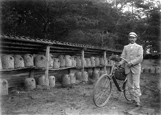 Ernst Schulz 1901 in der Heide