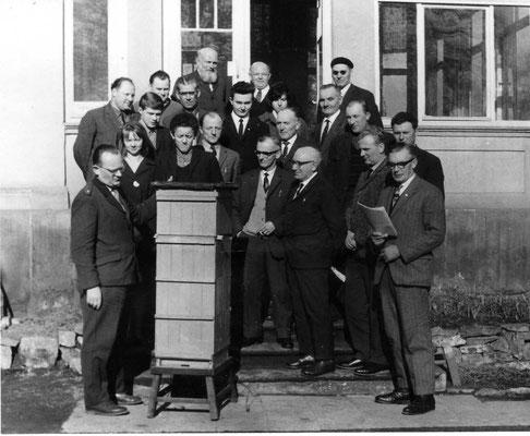 Meisterlehrgang in Thälermühle mit Helmut Paasche