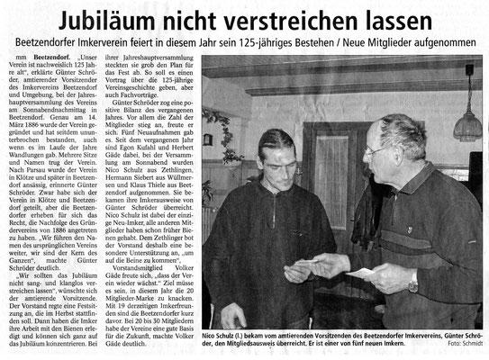18.1.2011 Altmarkzeitung