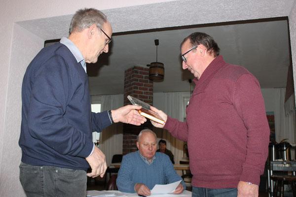 Harald Ehricke wurde als neues Vereinsmitglied begrüßt.