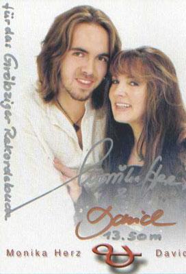 Der Rekordhalter David Herz mit Monika Herz