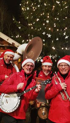 Weihnachtliche Musik zum Adventsmarkt Deidesheim - The Christmas Heroes