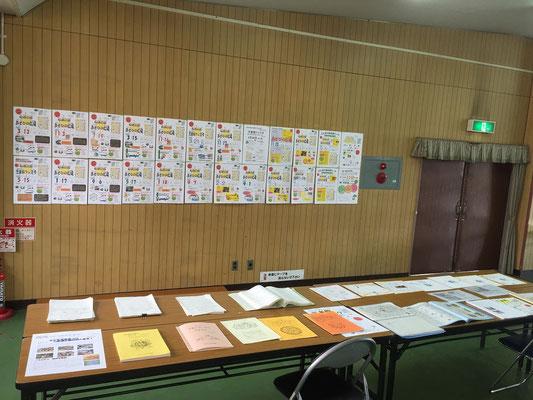大阪市立の時代から建物を持たない西成児童館に渡る資料展示