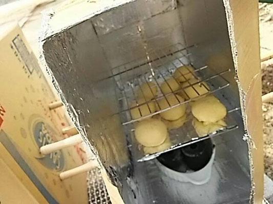 段ボールオーブン完成!!