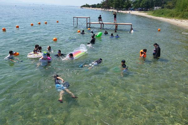 湖水浴 2日目