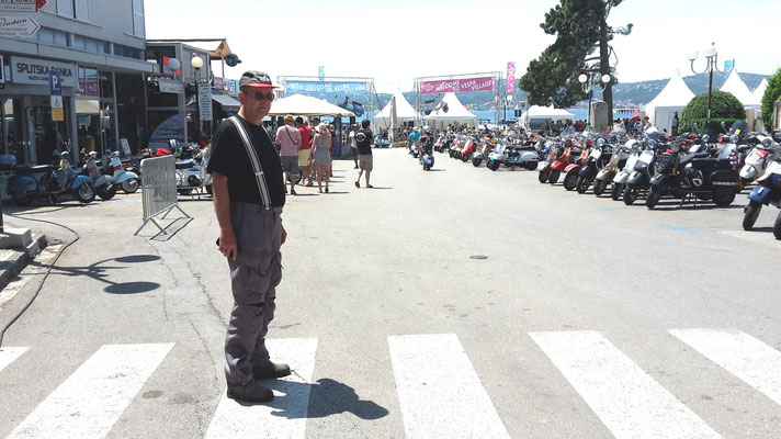 Vespa World Days 2015 Kroatien