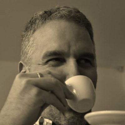 2014: Zeit für einen Espresso während eines Fototermins ist immer ...