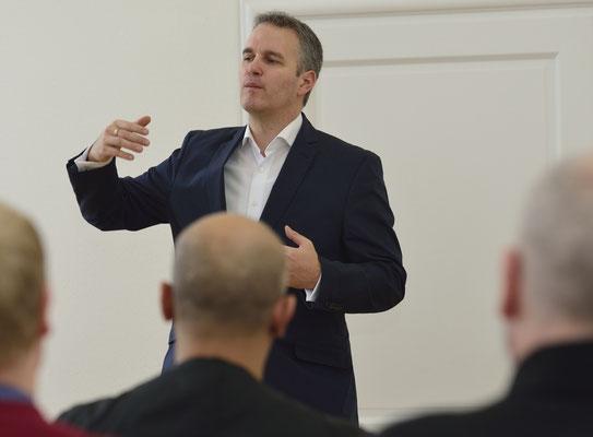 2014: Ein Vortrag zum Thema: Marketing für Trainer & Coaches.