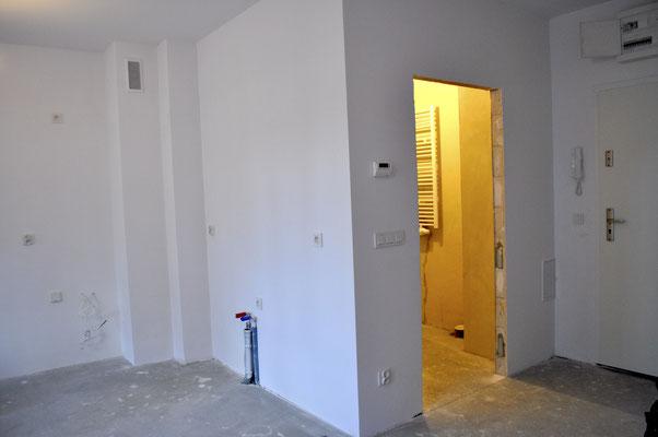 Neubau-Wohnung im Rohbbau-Zustand