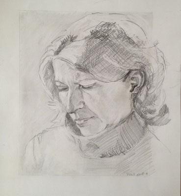 Marion, 2004, Bleistift, 30x40