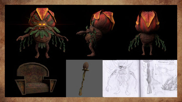 Excerpt from Lost in the Woods - Art & Design + Storyboard