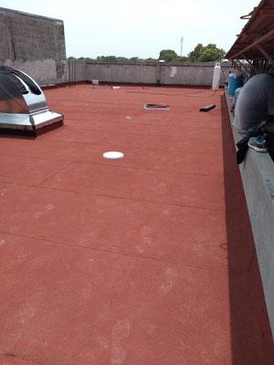 Impermeabilizante prefabricado PASA Multi Cape APP PG 4 mm de espesor. Tienda Parisina, Juarez esq. Calle 16 de Septiembre, Nicatán, Tonala Chiapas.