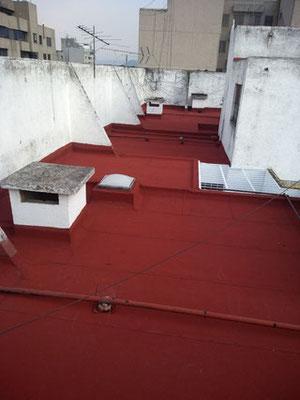 Impermeabilizante prefabricado Curacreto TECHNOPLY SBS-SP400 de 4.00 mm. Edificio ubicado en calle Alba No. 61, Insurgentes Cuicuilco,CDMX.