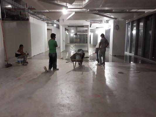 Mortero Hidráulico Autonivelante con un espesor de 0.50 cm. Edificio Capital Reforma piso 23 y piso 24, Paseo de la Reforma no 250, Col. Juarez, CDMX.