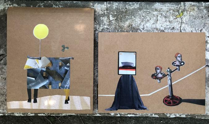 Collage by Sae Kimura, deborah harris