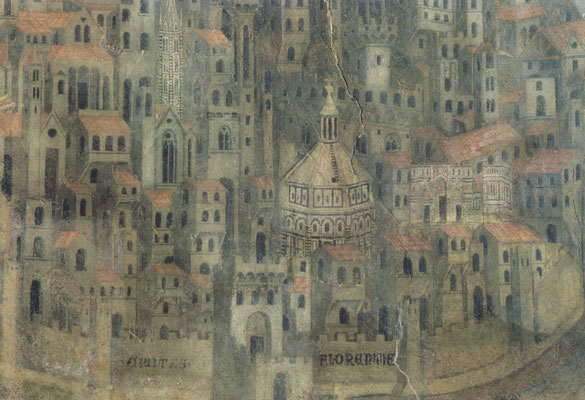 Fresco of City of Florence 1342  Annonymous