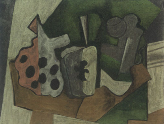 Painting by Georges Braque