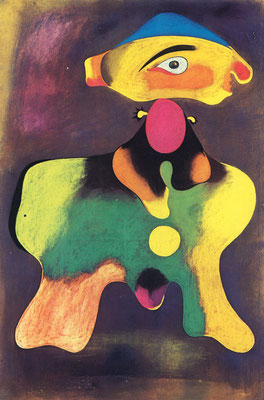 Paintng by Miro