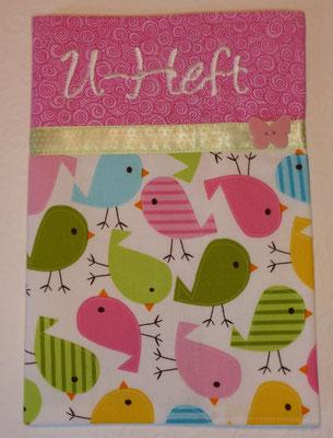 Vögel rosa-grün