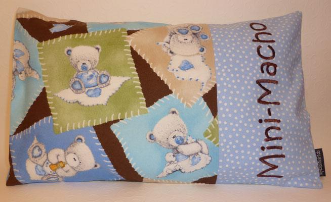 Teddys blau-braun
