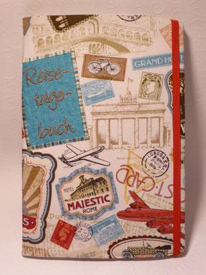 Reisetagebuch mit Notizbuch in DIN A 5-Format (nachfüllbar)