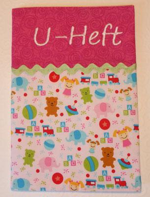 Mädchenspielzeuge rosa (gibts auch mit weiß hinter den Spielzeugen, Geschenksets)