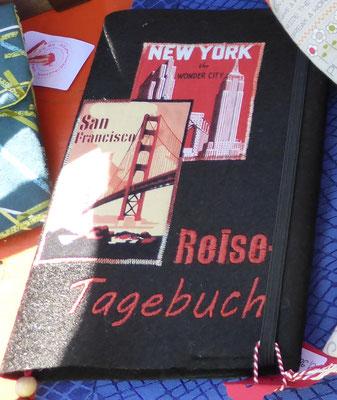 Reisetagebuch in DIN-A-5-Format