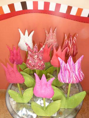 Solche Tulpenfelder wecken Frühlingsgefühle...