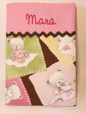Teddys rosa-braun
