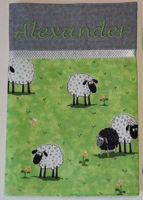 Schafe grün