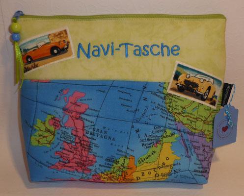 Navi-Tasche - hier paßt das ganze Zubehör fürs Navi rein