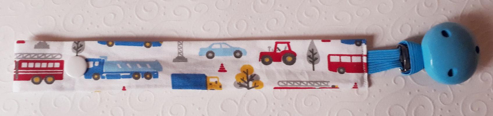 """""""Fahrzeuge blau-rot auf weiß"""""""