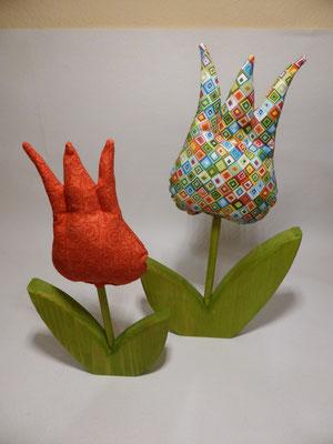 ...machen diese Tulpen echt was her!