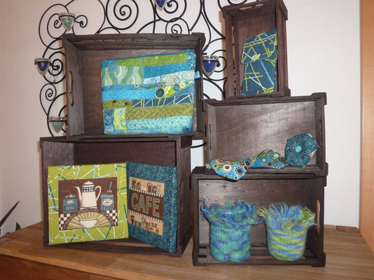 ...Patchwork-Ideen Ton in Ton...