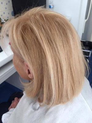 Blond caramel