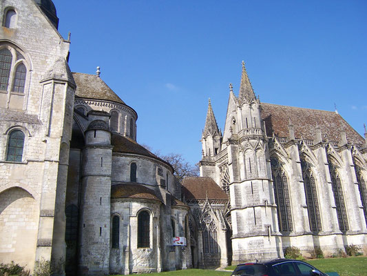 l'abbatiale de Saint-Germer-de Fly