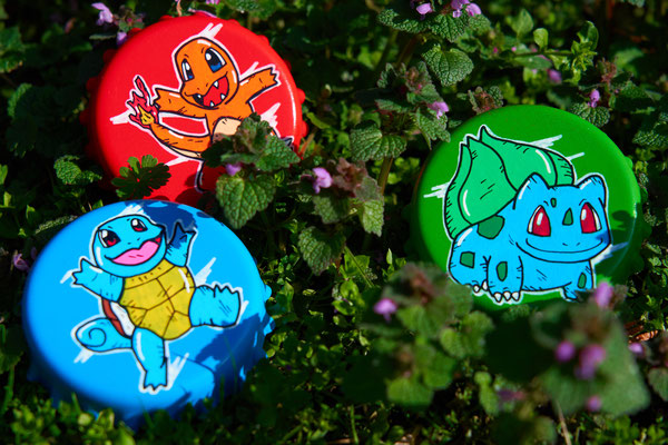 Pokemon Design Flaschenöffner als Geschenk