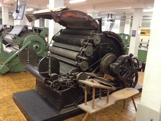 Diese Maschine wird zur Herstellung des Kammzuges verwendet