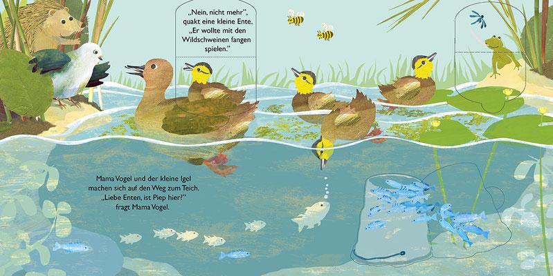 Wo ist Piep? Spielbuch mit Klappen für Kinder ab 24 Monaten, 6 DS + Cover, eigenes Konzept und Umsetzung